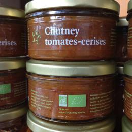 chutney de tomates-cerises
