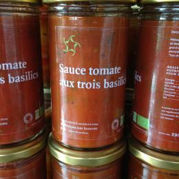 sauce tomate aux trois...